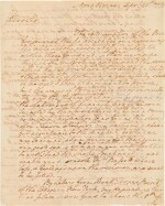 Washington, George   A long and personal letter from Washington at Mt. Vernon