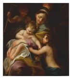 ANTON MARIA PIOLA   MADONNA AND CHILD WITH ST. JOHN THE BAPTIST (ALLEGORY OF CHARITY)