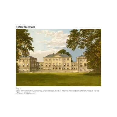 View 2. Thumbnail of Lot 28. JOHN WOOTTON | King William III stag hunting | 約翰・伍頓 | 《英王威廉三世狩獵雄鹿》.