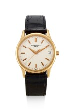 PATEK PHILIPPE | CALATRAVA, REFERENCE 3998, A YELLOW GOLD WRISTWATCH WITH DATE, MADE IN 1996