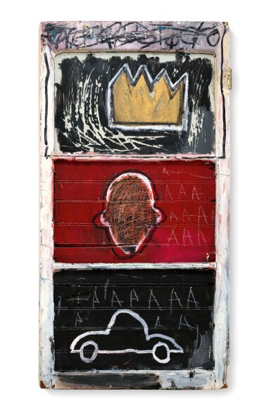 View full screen - View 1 of Lot 117.  JEAN-MICHEL BASQUIAT | MINOR SUCCESS.