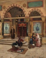 RUDOLF ERNST | OUTSIDE THE MOSQUE