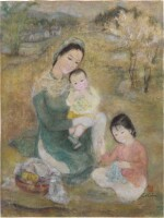 Le Thi Luu 樂氏琉 | Woman and Children 聖母與聖子