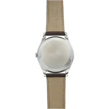 View 5. Thumbnail of Lot 84. IWC | A STAINLESS STEEL CENTER SECONDS WRISTWATCH, CIRCA 1975.