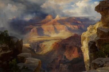 View 1. Thumbnail of Lot 20. Grand Canyon, Arizona (A Miracle of Nature) (Zoroaster Peak, Grand Cañon).