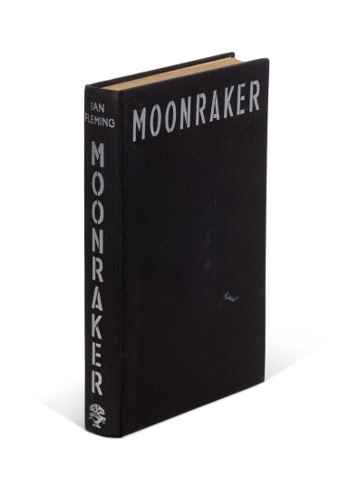 View 6. Thumbnail of Lot 16. FLEMING   Moonraker, 1955, first edition, presentation copy inscribed to Raymond Chandler.