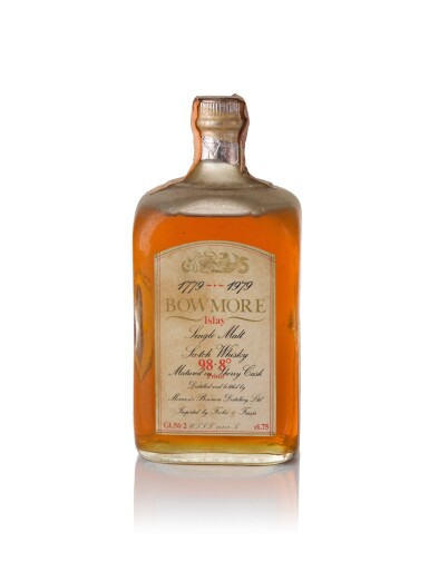 Bowmore Bicentenary 1779 to 1979 Fecchio and Frassa 56.2 abv NV
