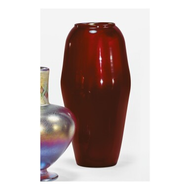 View 1. Thumbnail of Lot 14. TIFFANY STUDIOS | VASE.
