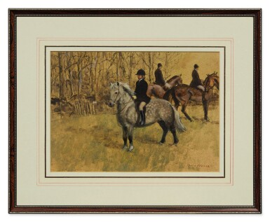View 2. Thumbnail of Lot 21. HENRY KOEHLER    THE HUNTING PONY.
