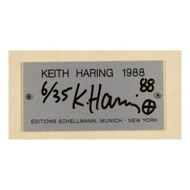 View 2. Thumbnail of Lot 57. KEITH HARING | TOTEM.