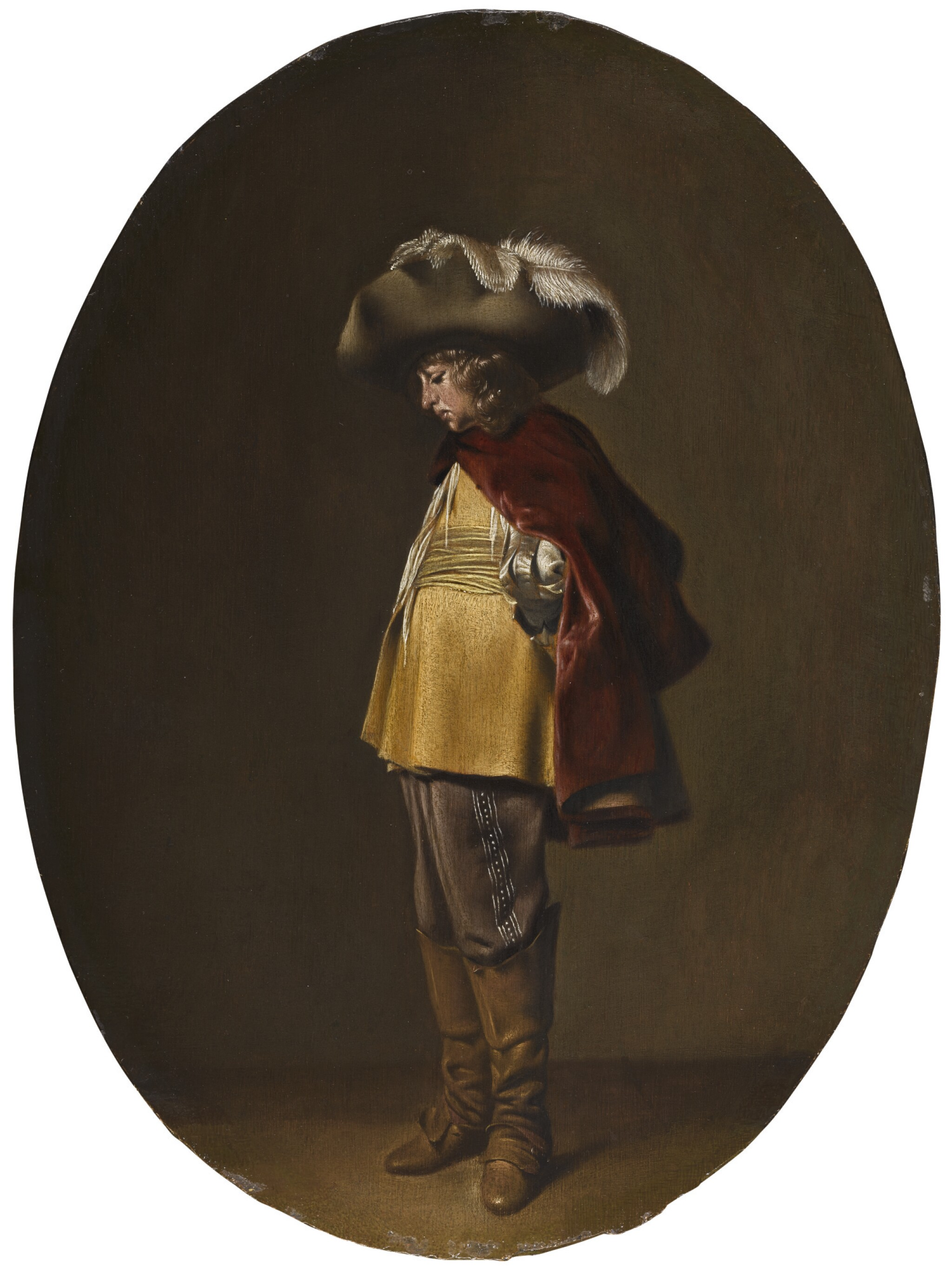 View full screen - View 1 of Lot 27. WILLEM CORNELISZ. DUYSTER | A young officer in profile.