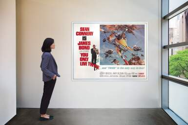 View 2. Thumbnail of Lot 74. YOU ONLY LIVE TWICE (1967) POSTER, US, SUBWAY STYLE B (LITTLE NELLY).