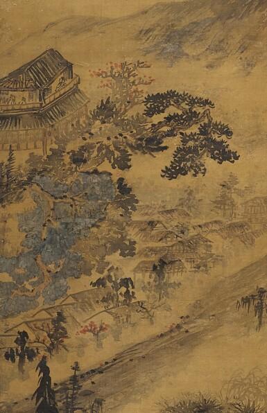 View 3. Thumbnail of Lot 2542. SHITAO 1642-1707 石濤  | SCHOLAR GAZING FAR INTO THE LANDSCAPE 李白詩意圖.