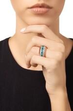ZIRCON AND DIAMOND RING, VERDURA