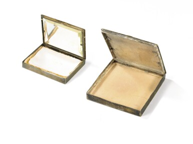 View 4. Thumbnail of Lot 170. LINE VAUTRIN | TWO POWDER BOXES, CIRCA 1950-1960 [DEUX POUDRIERS, VERS 1950-1960].