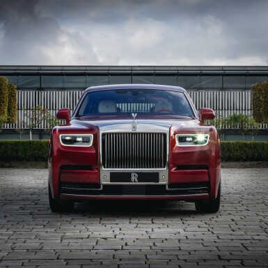 Red Rolls Royce Phantom Commission With Mickalene Thomas Red Rolls Royce Phantom Commission With Mickalene Thomas Ecommerce Retail Sotheby S