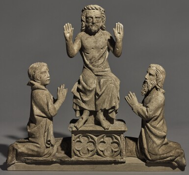 GERMAN, RHENISH, SECOND HALF 14TH CENTURY   A DEESIS