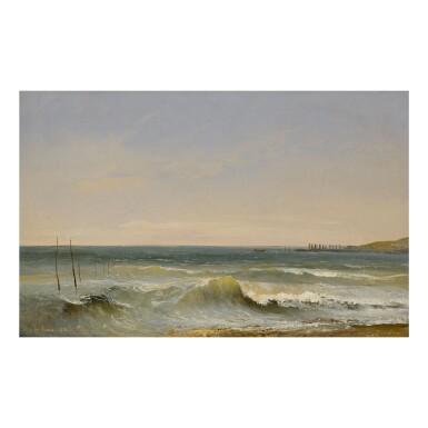 JULES COIGNET   BREAKING WAVES, LE HAVRE