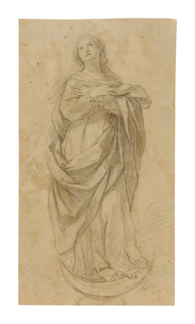 View 1. Thumbnail of Lot 542. BOLOGNESE SCHOOL, 17TH CENTURY | THE IMMACULATE CONCEPTION.