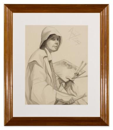 View 2. Thumbnail of Lot 65. Self-Portrait.