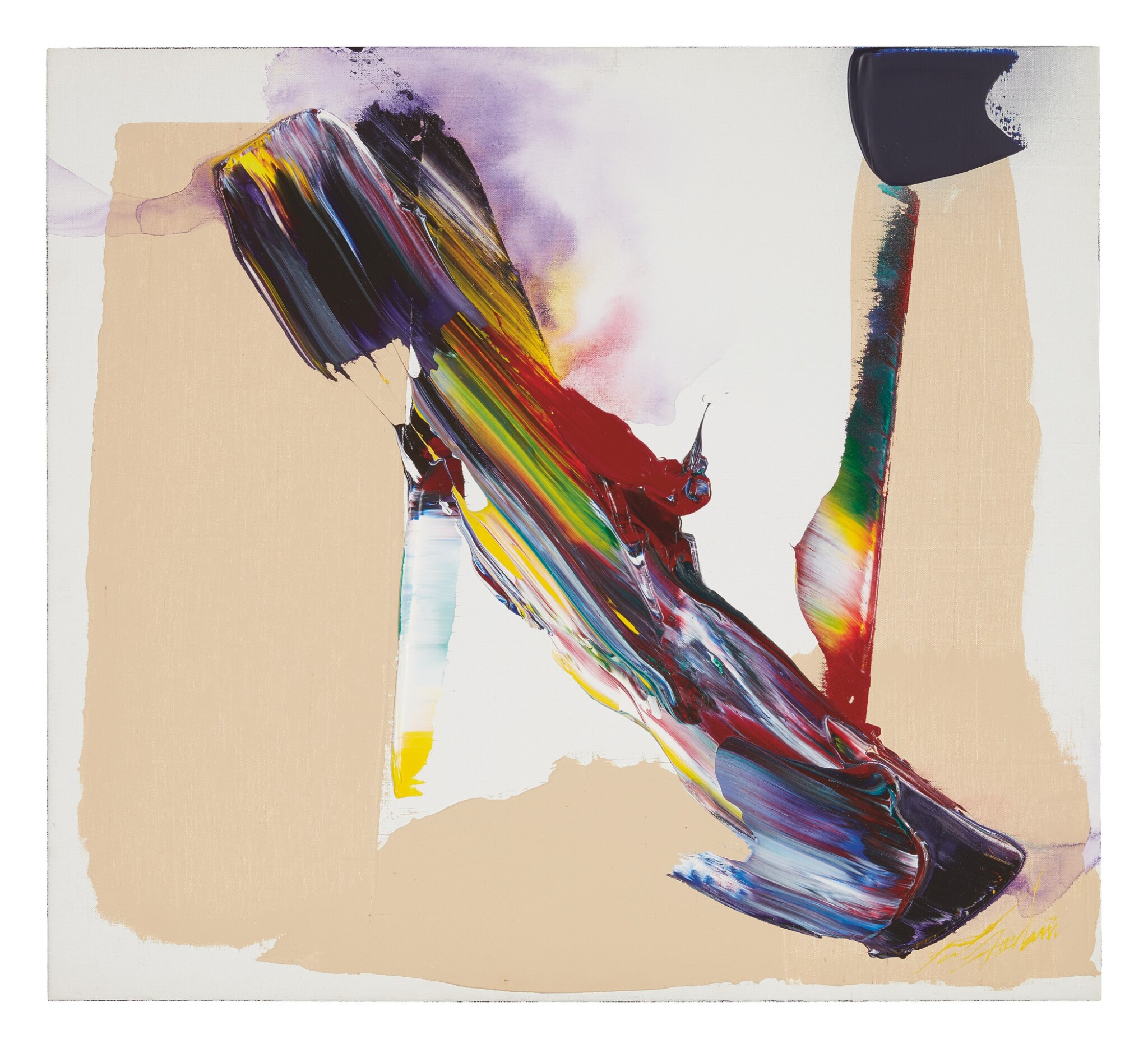 View 1 of Lot 487. PAUL JENKINS | UNTITLED.