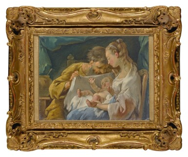 View 2. Thumbnail of Lot 611. The Holy Family.