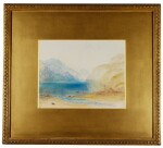 WILLIAM WARD | Fluelen: Morning (Looking Towards the Lake of Lucerne), after Joseph Mallord William Turner, R.A.