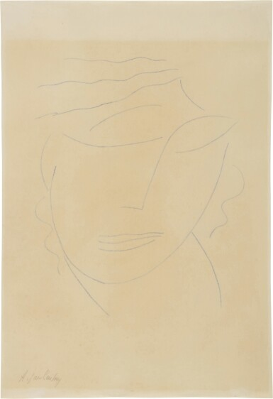 View 1. Thumbnail of Lot 60. Frauenportrait (Portrait of a Woman).