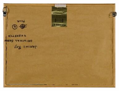 View 3. Thumbnail of Lot 1809. JAMINI ROY | UNTITLED (GANESH); UNTITLED (KINGDOM OF CARDS).