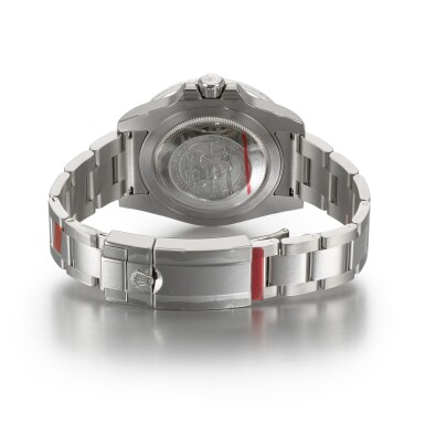 View 5. Thumbnail of Lot 10. 'Sea-King' GMT-Master II, Ref. 116710 Stainless Steel Dual Time Military Wristwatch With Date And Bracelet Circa 2014.