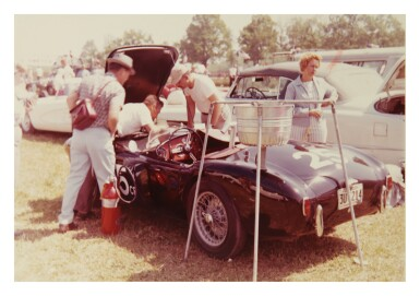 View 4. Thumbnail of Lot 105. PHOTOGRAPHER UNKNOWN | SELECTED IMAGES OF CAR RACES AND VINTAGE CARS.