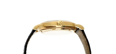View 4. Thumbnail of Lot 228. Reference 3473  A yellow gold automatic wristwatch, Made in 1962.