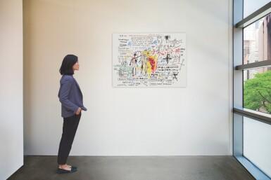 View 3. Thumbnail of Lot 9038. 尚・米榭・巴斯基亞 Jean-Michel Basquiat | 拳擊手謀反 Boxer Rebellion.