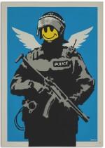 班克斯 Banksy   飛行警察 Flying Copper