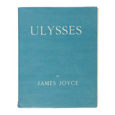 JAMES JOYCE | ULYSSES. PARIS: 1922; FIRST EDITION, MARSDEN HARTLEY'S COPY