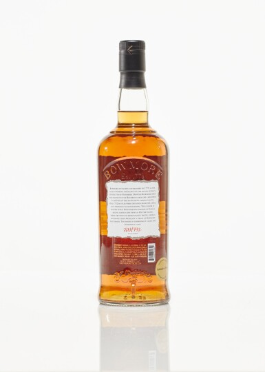 View 2. Thumbnail of Lot 33. Bowmore White Bourbon Cask 43 Year Old 42.8 abv 1964 (1 BT75cl).