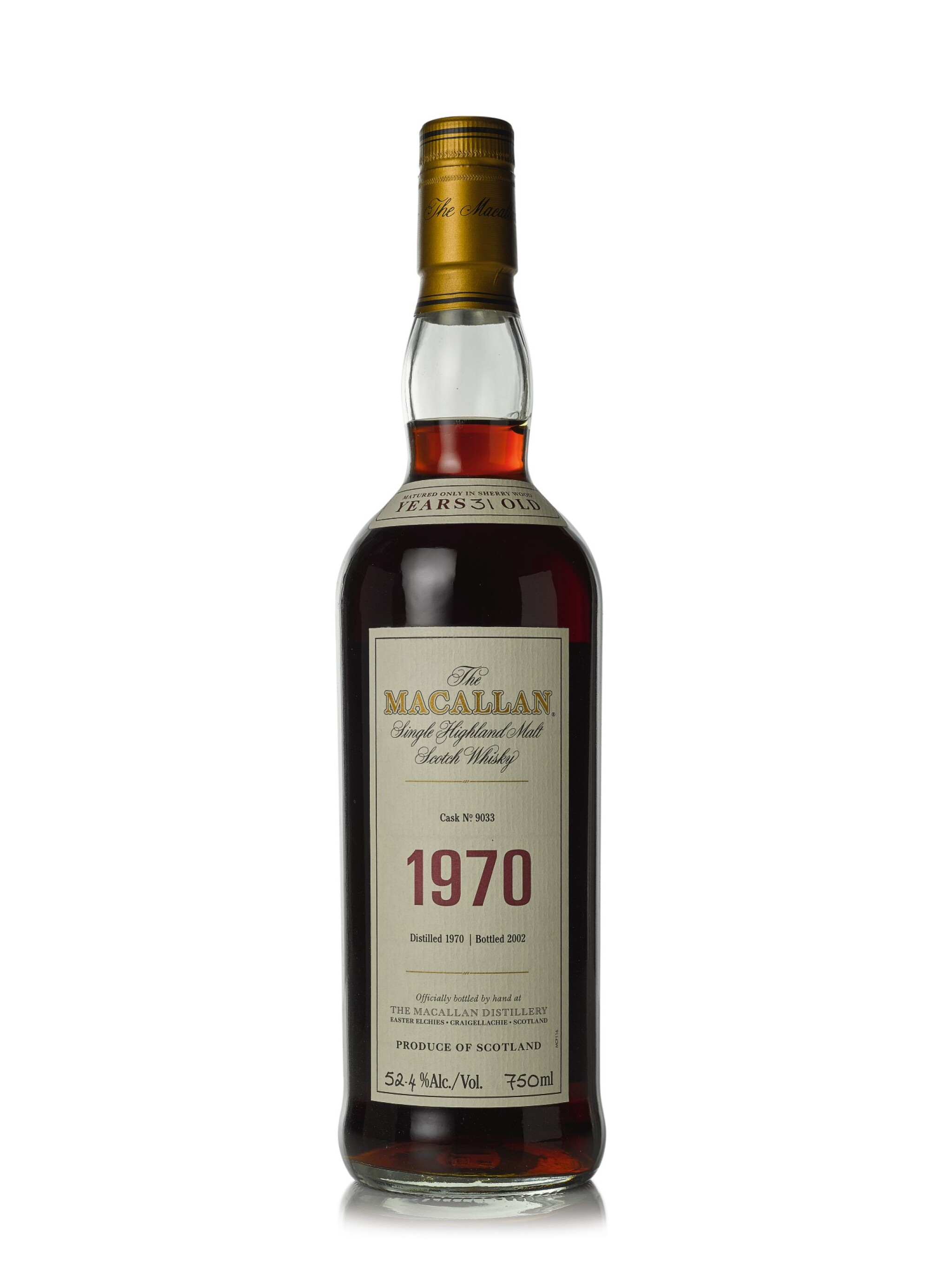 The Macallan Fine & Rare 31 Year Old 52.4 abv 1970 (1 BT75cl)