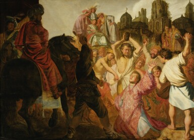 View 4. Thumbnail of Lot 23. The Raising of Lazarus.