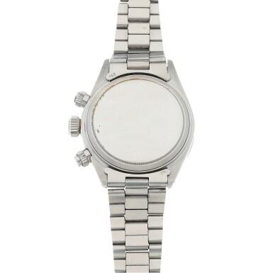 View 4. Thumbnail of Lot 426. 'Sigma Dial' Daytona, Ref. 6265 Stainless steel chronograph wristwatch with bracelet Circa 1973 | 勞力士 6265型號「'Sigma Dial' Daytona」精鋼計時鍊帶腕錶,年份約1973.