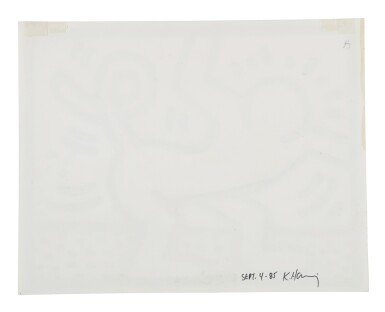 View 2. Thumbnail of Lot 209. Untitled (Pop Shop Drawing).