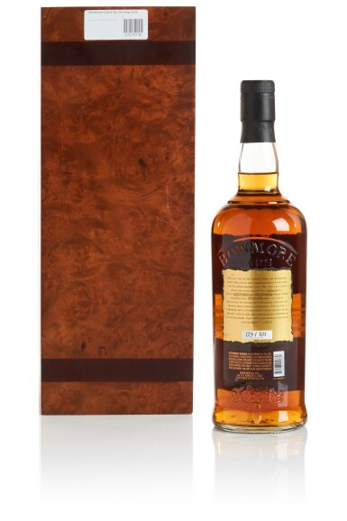 View 2. Thumbnail of Lot 318. BOWMORE GOLD FINE OAK CASK 44 YEAR OLD 42.4 ABV 1964  .