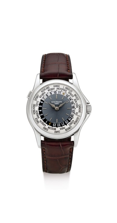 View 1. Thumbnail of Lot 31. PATEK PHILIPPE | REFERENCE 5110, A PLATINUM WORLDTIME WRISTWATCH, MADE IN 2004.