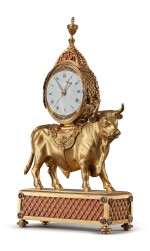 AN ENGLISH GEORGE III GILT BRONZE MANTLE CLOCK BY TIMOTHY WILLIAMSON, LONDON, MADE FOR THE CHINESE MARKET, CIRCA 1780