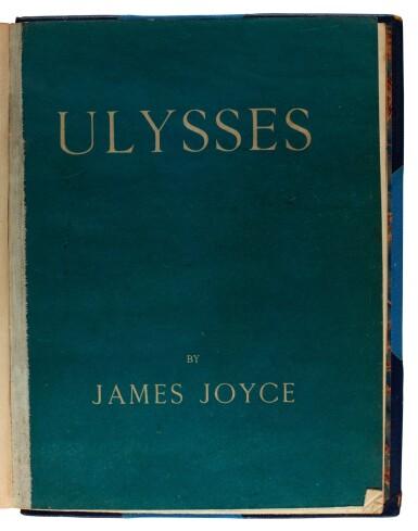 View 2. Thumbnail of Lot 88. JOYCE | Ulysses, no.762/750 copies, 1922.