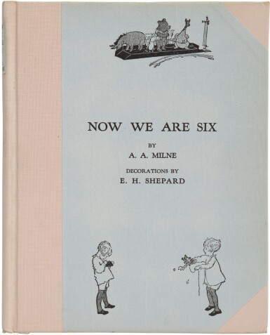 View 1. Thumbnail of Lot 165. MILNE, A. A.   Now We Are Six. New York: E. P. Dutton, (1927).