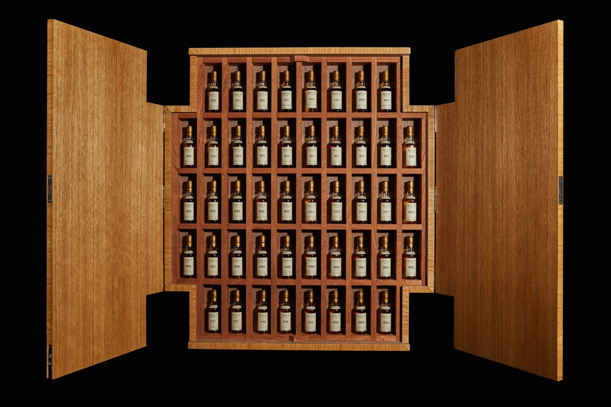 View full screen - View 1 of Lot 161. THE MACALLAN FINE & RARE MINIATURE COLLECTION          .