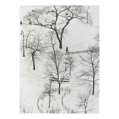 ANDRÉ KERTÉSZ | WASHINGTON SQUARE, WINTER