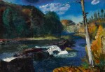 GEORGE WESLEY BELLOWS | MILL DAM