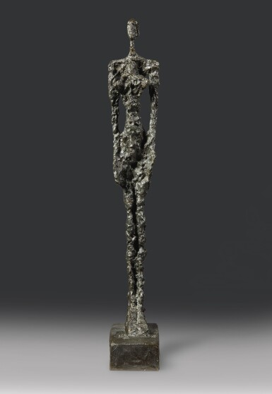 View full screen - View 1 of Lot 111.  ALBERTO GIACOMETTI | FEMME DE VENISE IV.