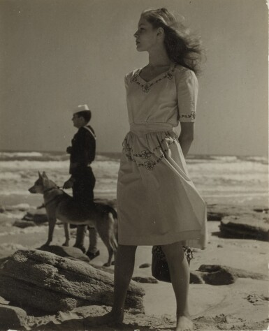 View 1. Thumbnail of Lot 4. LOUISE DAHL-WOLFE | LAUREN BACALL.
